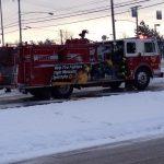fire truck snow